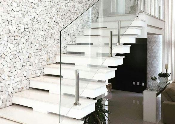 Guarda-Corpo de Vidro para Escada