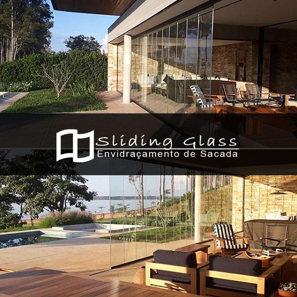 Envidraçamento de Sacada Sliding Glass